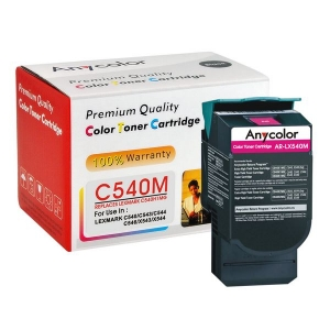 LEXMARK C540 C540H1MG MAGENTA Anycolor